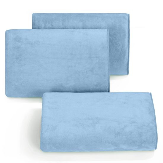 Ręcznik z mikrofibry szybkoschnący niebieski 50x90cm  - 50 X 90 cm