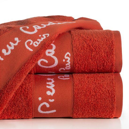 Ręcznik Mali Eurofirany Premium 50x90 czerwony - 50 X 90 cm