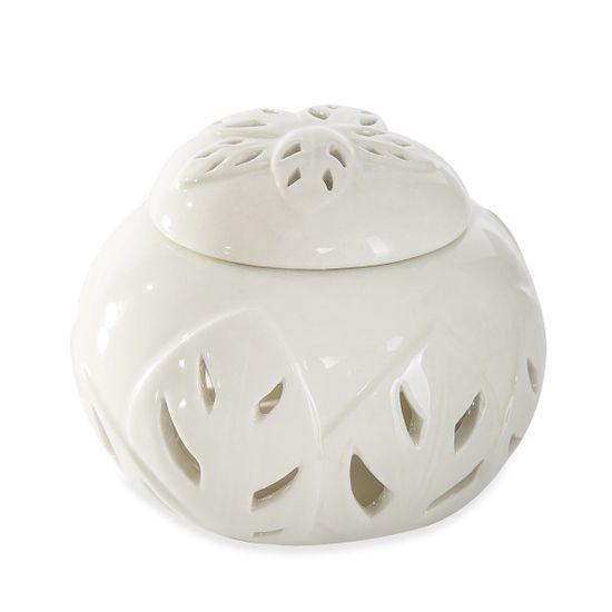 Puzderko ceramiczne ażurowe 8 cm - ∅ 12 X 8 cm