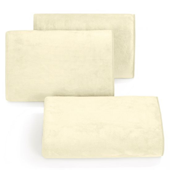 Ręcznik z mikrofibry szybkoschnący kremowy 30x50cm  - 30 X 30 cm
