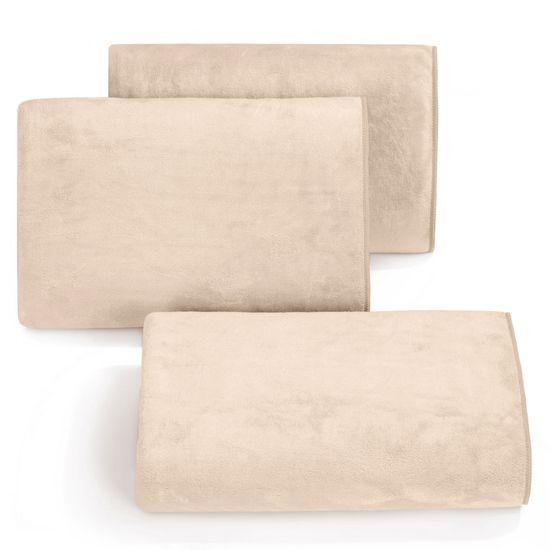 Ręcznik z mikrofibry szybkoschnący beżowy 30x30cm  - 30 X 30 cm
