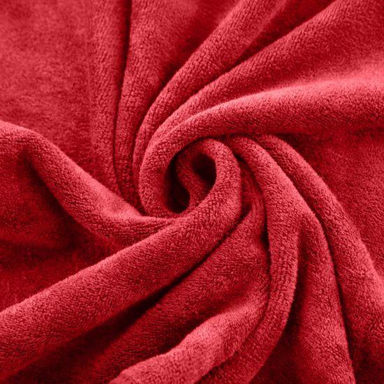 Ręcznik z mikrofibry szybkoschnący czerwony 30x30cm  - 30x30