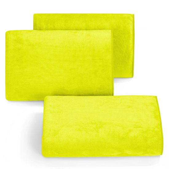 Ręcznik z mikrofibry szybkoschnący limonkowy 30x30cm  - 30 X 30 cm