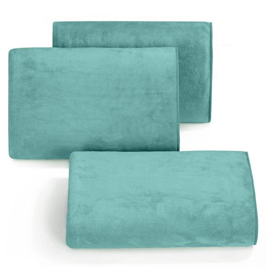 Ręcznik z mikrofibry szybkoschnący turkusowy 30x30cm  - 30 X 30 cm
