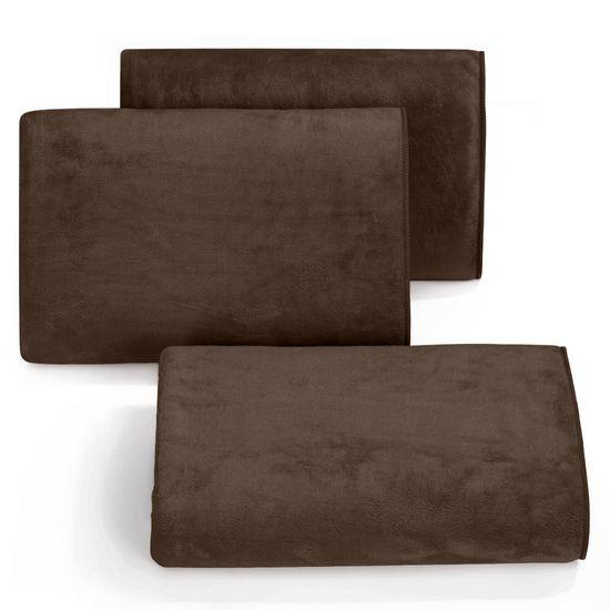 Ręcznik z mikrofibry szybkoschnący brązowy 30x30cm  - 30 X 30 cm