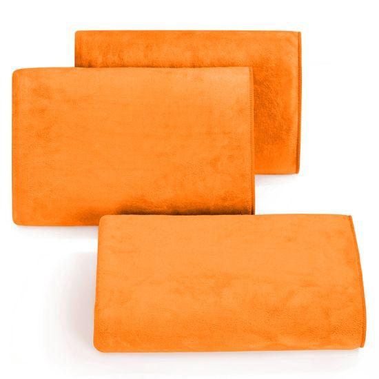 Ręcznik z mikrofibry szybkoschnący pomarańczowy 50x90cm  - 50 X 90 cm