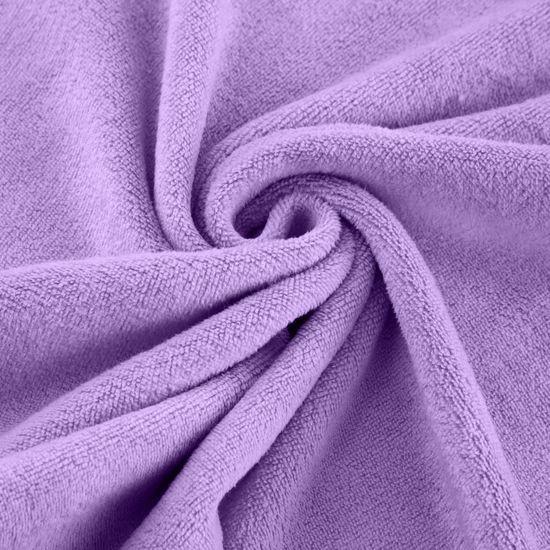 Ręcznik z mikrofibry szybkoschnący fioletowy 30x30cm - 30x30