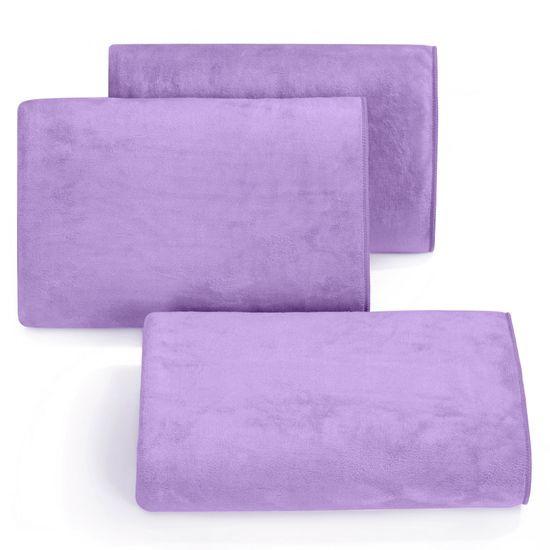 Ręcznik z mikrofibry szybkoschnący fioletowy 50x90cm  - 50 X 90 cm