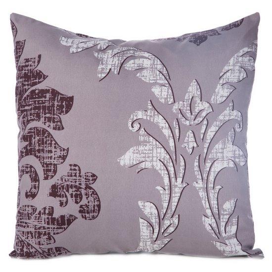 Poszewka na poduszkę biała z ornamentowym wzorem 40 x 40 cm - 40 X 40 cm - biały