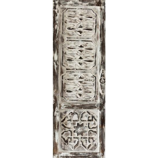 Obraz Shabby Chic drzwi drewno płótno 50 x 150 cm - 50 X 150 cm