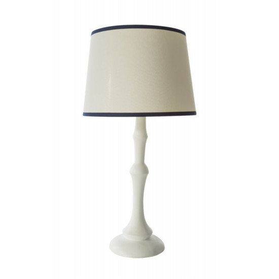 Lampa dekoracyjna ecru 55 cm - ∅ 28 X 55 cm