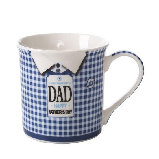 Kubek tata porcelana 325 ml - 325 ml