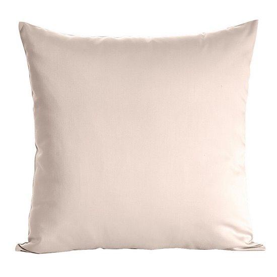 Poszewka dekoracyjna na poduszkę 70 x 80 kolor beżowy - 70x80
