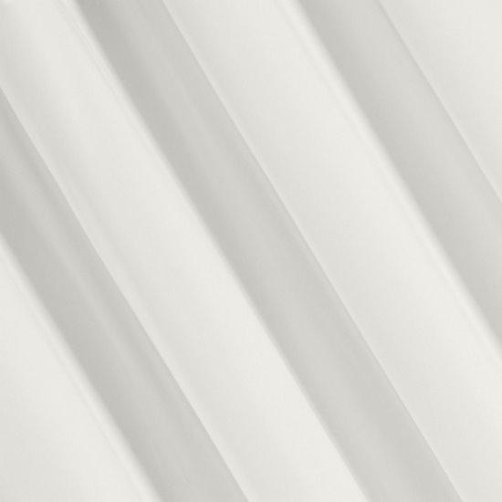Zasłona welwetowa kremowa 140x250cm przelotki - 140x250