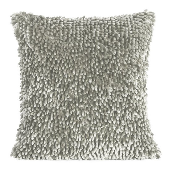 Poszewka dekoracyjna na poduszkę  50 x 50 Kolor Srebrny - 50x50