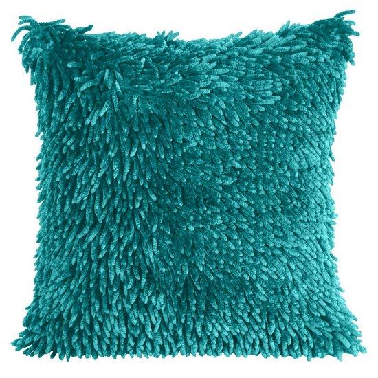 Poszewka dekoracyjna na poduszkę  50 x 50 Kolor Turkusowy - 50x50