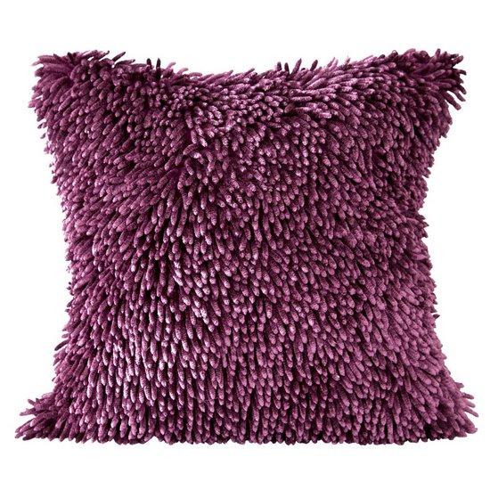 Poszewka dekoracyjna na poduszkę  50 x 50 Kolor Lila - 50x50