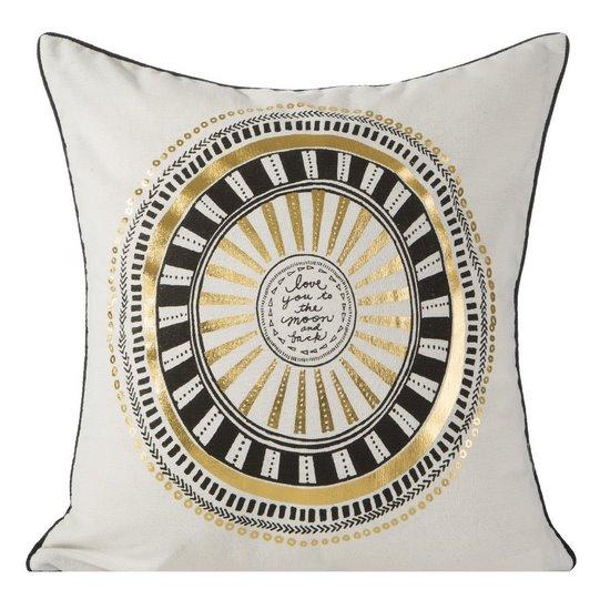 Poszewka dekoracyjna na poduszkę 45 x 45 kolor  - 45x45 - szary