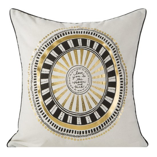 Poszewka dekoracyjna na poduszkę 45 x 45 kolor  - 45 X 45 cm