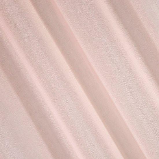 Firana gotowa gładka różowa na przelotkach 140x250cm - 140 X 250 cm
