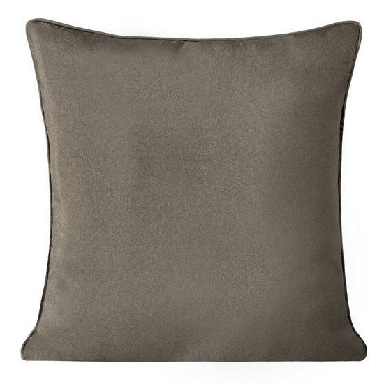Poszewka na poduszkę gładka jasny brąz 40 x 40 cm  - 40x40