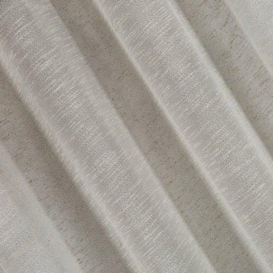 Zasłona w stylu eko 140x250 cm szelki - 140 X 250 cm
