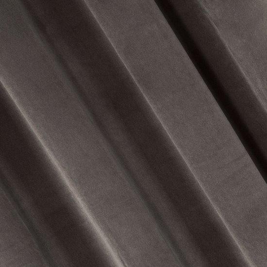 Zasłona brązowa 140x250 cm przelotki - 140x250