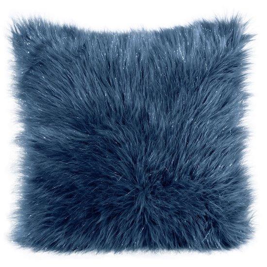 Poszewka dekoracyjna na poduszkę 45 x 45 kolor turkusowy - 45 X 45 cm