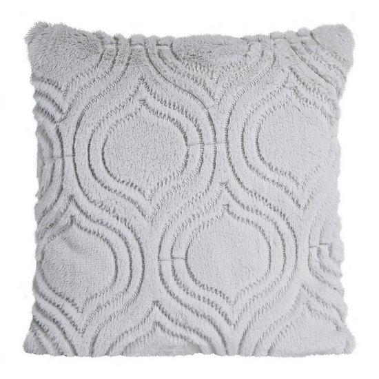 Poszewka na poduszkę 45 x 45 cm srebrna  - 45x45 - srebrny