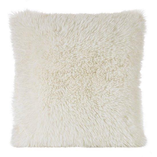 Poszewka dekoracyjna na poduszkę  45 x 45 Kolor Kremowy/Złoty - 45x45