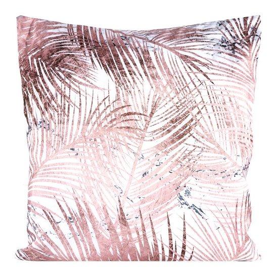 Poszewka dekoracyjna na poduszkę  45 x 45 Kolor Różowy - 45x45