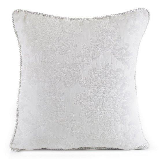 Poszewka dekoracyjna na poduszkę  45 x 45 Kolor Biały - 45x45