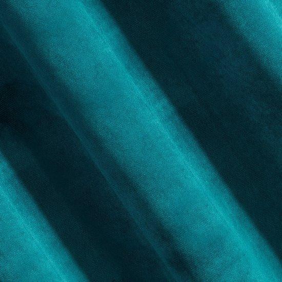Zasłona zielona matowa 140x250 cm przelotki - 140x250
