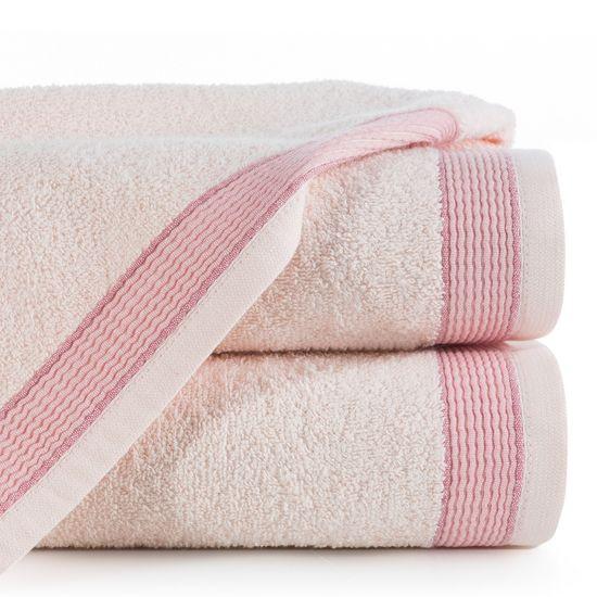 Ręcznik Bill Eurofirany Premium 50x90 jasnoróżowy - 50 X 90 cm - różowy
