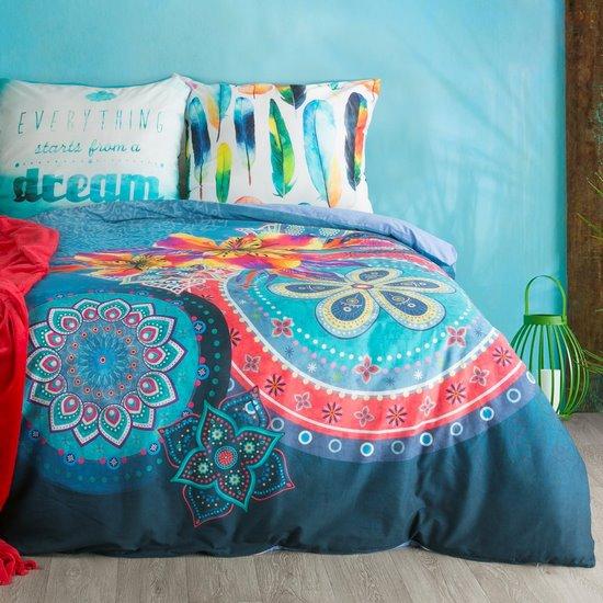 Komplet pościeli  z bawełny hiszpańskiej  160 x 200 cm, 2 szt. 70 x 80 styl boho bawełna hiszpańska - 160x200
