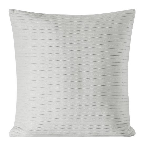 Poszewka dekoracyjna na poduszkę 45 x 45 kolor srebrny - 45 X 45 cm