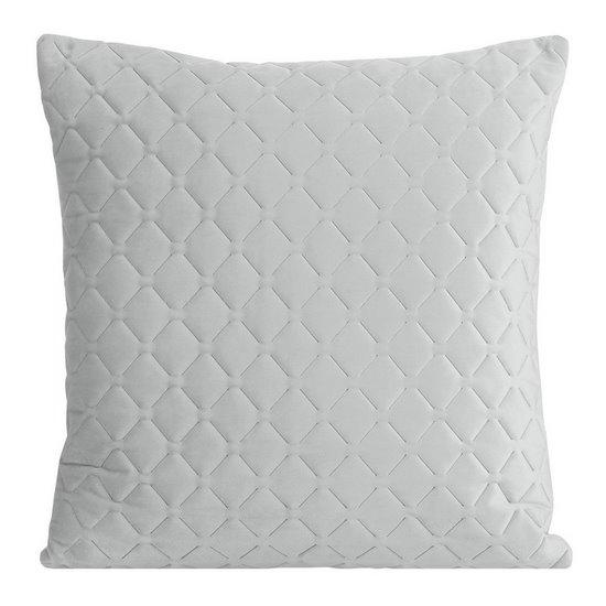 Poszewka dekoracyjna na poduszkę 45 x 45 kolor srebrny - 45x45