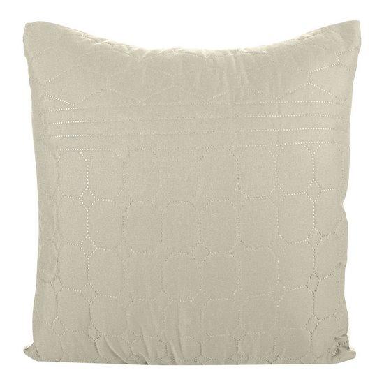 Poszewka na poduszkę beżowa 40 x 40 cm  - 40 X 40 cm