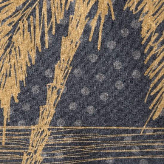 Komplet pościeli bawełnianej 160 x 200, 2 szt. 70 x 80 złota mandala hiszpańska bawełna  - 160x200 - czarny / złoty