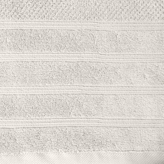 Bawełniany ręcznik kąpielowy frote kremowy 50x90 - 50 X 90 cm