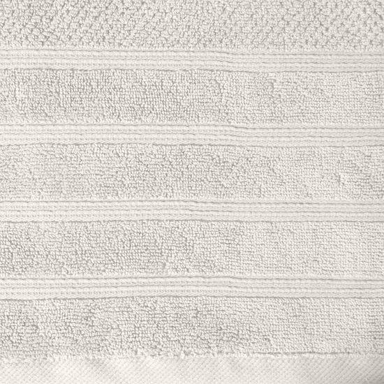Bawełniany RĘCZNIK kąpielowy frote kremowy 70x140 - 70x140 - kremowy