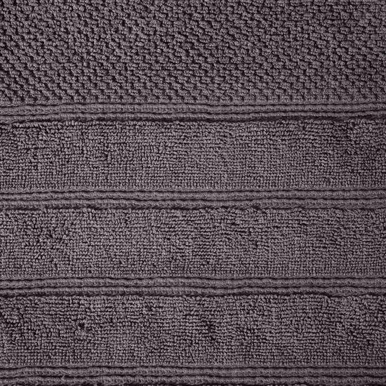 Bawełniany RĘCZNIK kąpielowy frote GRAFITOWY 50x90 - 50x90