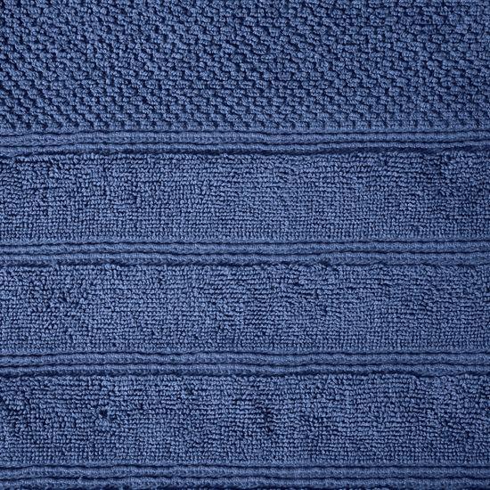 Bawełniany ręcznik kąpielowy frote niebieski 50x90 - 50 X 90 cm