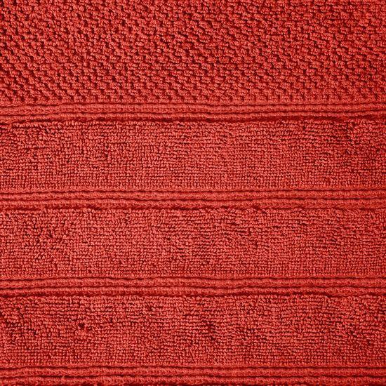 Bawełniany RĘCZNIK kąpielowy frote CEGLASTY 50x90 - 50x90