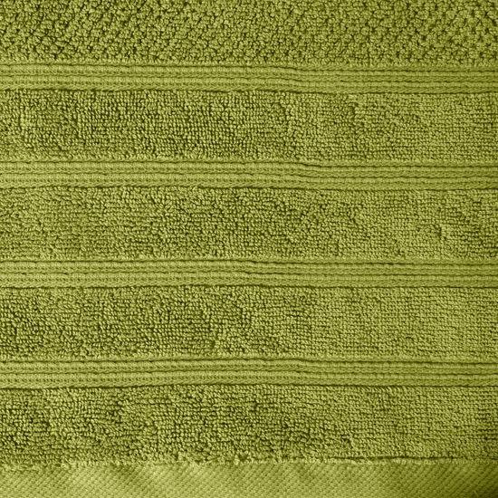 Bawełniany ręcznik kąpielowy frote oliwkowy 70x140 - 70 X 140 cm