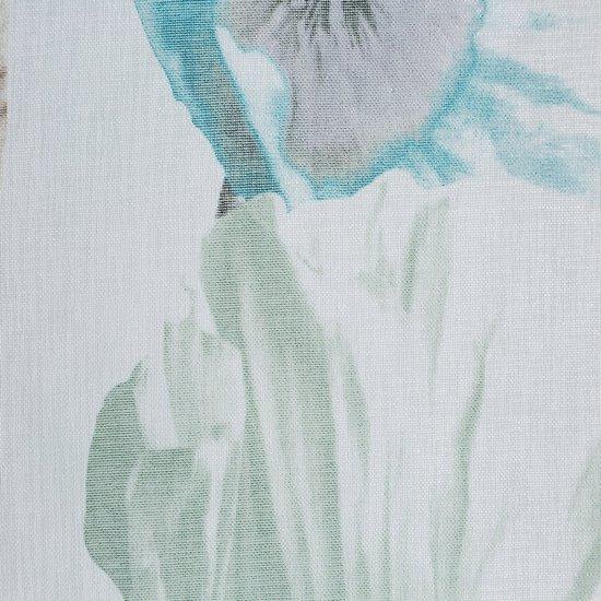 Zasłona z motywem roślinnym przelotki 140x250 cm  - 140x250