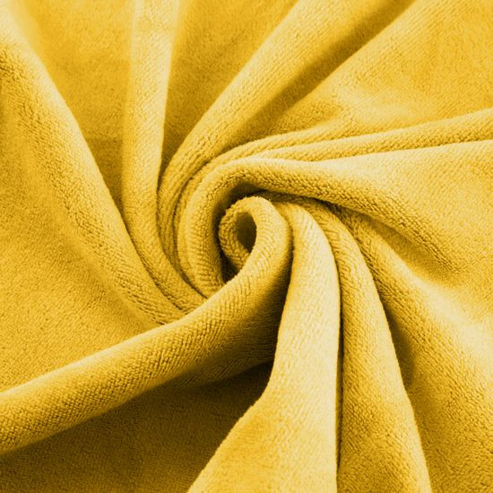 Ręcznik z mikrofibry szybkoschnący musztardowy 50x90cm  - 50 X 90 cm