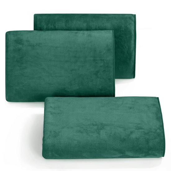 Ręcznik z mikrofibry szybkoschnący ciemnozielony 30x30cm  - 30 X 30 cm