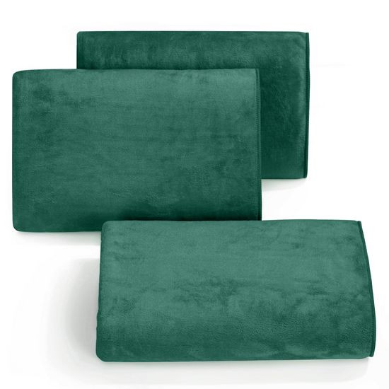Ręcznik z mikrofibry szybkoschnący ciemnozielony 50x90cm  - 50 X 90 cm