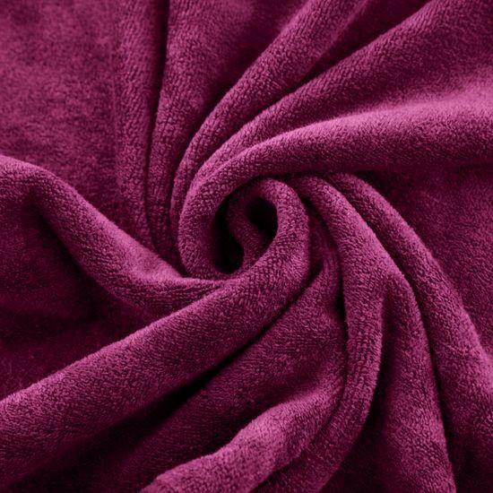Ręcznik z mikrofibry szybkoschnący amarantowy 70x140cm  - 70 X 140 cm - amarantowy